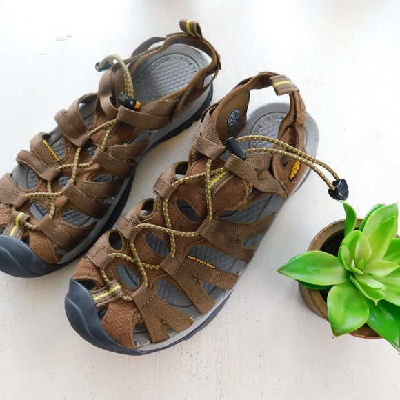 sneakers for cheap 14f71 0c832 KEEN ~ 8.5 39 Whisper Sandals COFFEE & Yellow